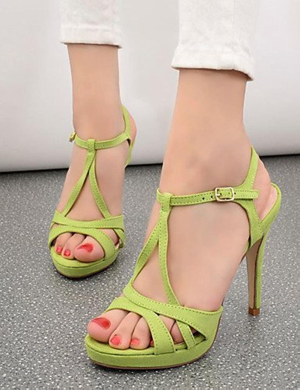 721115938bee99 chaussures de femme de laine shangyi shangyi shangyi talon aiguille bout  ouvert sandales partie & soir / robe noir / vert / rouge / almond  b01fzjl07m parent ...