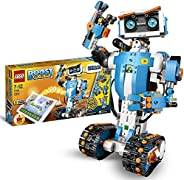 LEGO 17101 Boost Creative Toolbox Robotics Kit, 5 in 1 App Controlled Building Model with Programmable Interac