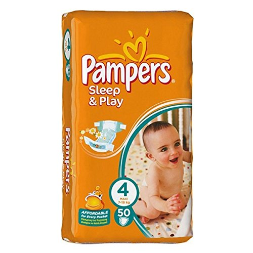 PAMPERS SLEEP & PLAY taille 4 LOT DE 3