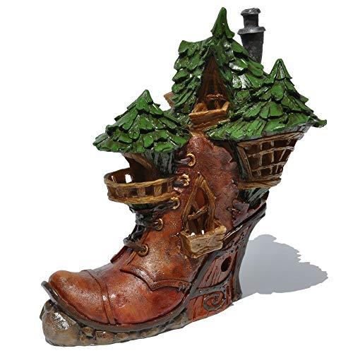 Miniature Ladies Boot Fairy House - Tür Sekretärin