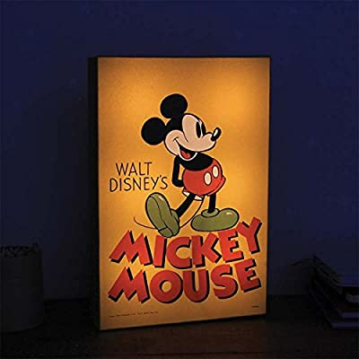 Mickey Mouse Lampe Lumineux Art