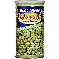 KHAO SHONG Erdnüsse mit Wasabi, scharf, 4er Pack (4 x 350 g)