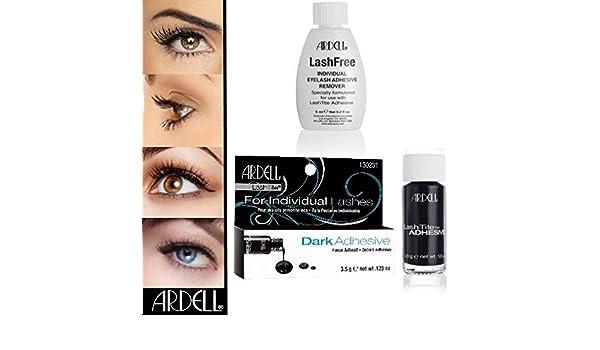 bec286b6c4d Lot de 2 Ardell Tite Dark + Colle Lashes Faux Faux cils Ardell Lashfree  Dissolvant Remover: Amazon.fr: Beauté et Parfum