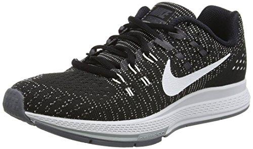 Nike Air Zoom Structure 19, Chaussures de Trail Femme Noir (Black/White/Dark Grey/Cl Grey)
