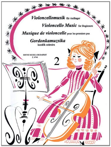 Violoncello music for Beginners 2 Easy concert pieces in first position par  Collectif