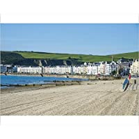 20x16 Print of Beach on the seafront of Douglas, Isle of Man, crown dependency of (13758606)