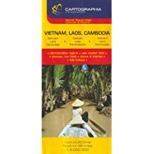 Map 6476 Vietnam Laos Cambodia by Michelin (August 01,2005)
