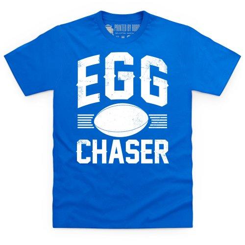 Egg Chaser Rugby T-Shirt, Herren Royalblau