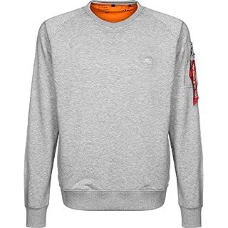 Alpha Industries Herren Sweatshirt grau XL