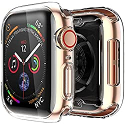 Spigen Apple Watch 42mm Coque, Rugged Armor conçue pour Apple Watch 42mm Serie 3/2/1 - Noir