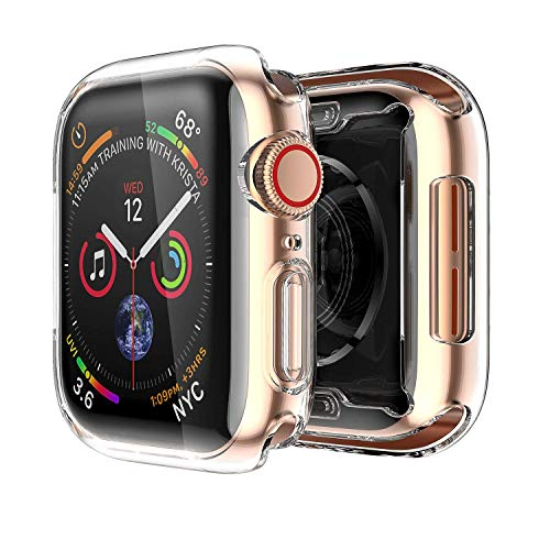 Spigen Apple Watch Hülle, Rugged Armor entworfen für Apple Watch 44mm Series 5 / Series 4 (2018) Case - Schwarz