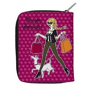 Derrière la porte - Sac Maman - Portefeuille Maya mission Shopping