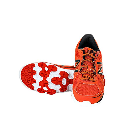 New Balance Men's Running Shoes Mr750ob3 2E Rouge Orange
