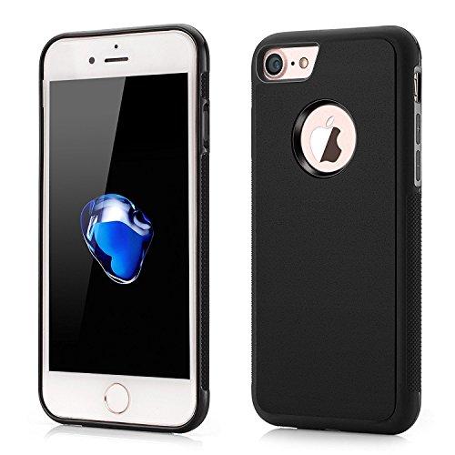 Case Cover Case Antigravity Anti Gravity Bumper TPU Backcase Coque de Protection Anti-gravité / iPhone 6 plus , 6s plus / BLACK