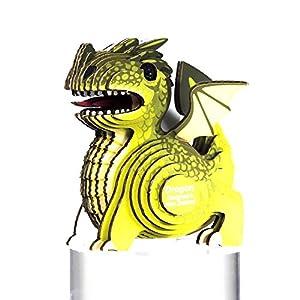 Eugy-Créatures Puzzle 3D Eco-Dragon, eg-24