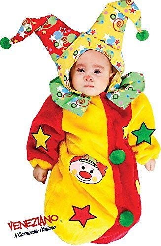 h Baby Jungen Mädchen Zirkus Clown Schlafsack Sack Kinderzimmer Bett Verkleidung Kostüm Kleidung 0-3 Monate ()