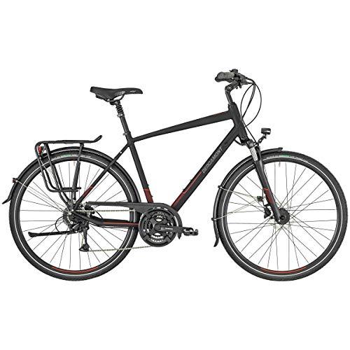 Bergamont Horizon 4 Trekking Fahrrad schwarz/rot 2019: Größe: 48cm (164-170cm)