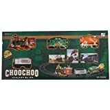 ShopNgift Battery Operated Choo Choo Classical Toy Train Set With Light ,Sound & Smoke