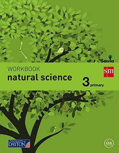 Natural science. 3 Primary. Savia. Workbook - 9788415743903 por Charlotte Green