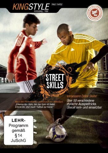 dvd-street-skills-kingstyle-fussball-trix-take-three-import-allemand