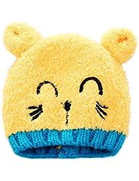 Amazon.it  Cappello lana giallo - Cappelli e cappellini   Accessori ... 3e4bf1a272b3