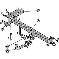 Witter Towbar for Citroen C-Crosser 4x4 2007 On Detachable Tow Bar