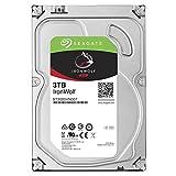 SEAGATE IronWolf 3 TB, ST3000VN007, disque dur interne, 8,9 cm (3,5 Zoll), 64 MB Cache, 5900 RPM, SATA 6Gb/s, (Reconditionné Certifié)
