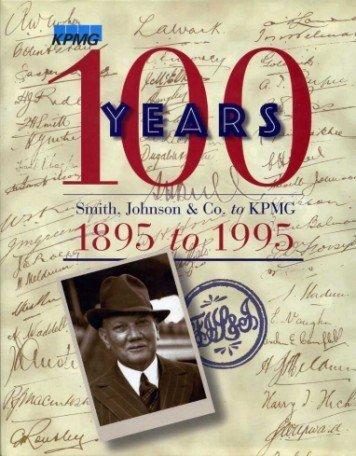 100-years-smith-johnson-co-to-kpmg-1895-to-1995-gebundene-ausgabe-by-