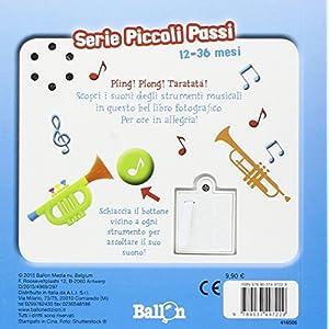 Gli strumenti musicali. Libro sonoro. Piccoli pass