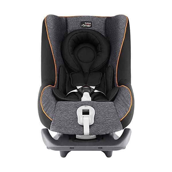 Britax Römer FIRST CLASS PLUS Group 0+/1 (Birth-18kg) Car Seat - Black Marble  This FIRST CLASS PLUS will come in a Black Marble design cover which is made from a more premium fabric with extra detailing Extended recline position when rearward facing - the safest way to travel Reassurance built-in - CLICK & SAFE harness tensioning confirmation 3