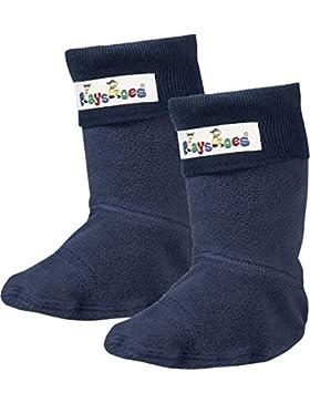 Playshoes Kinder Fleece Socken, Stiefelsocken für Gummistiefel