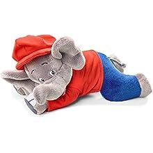 Schmidt Spiele Elephant Benjamin 42250 Soft Toy Flower Lying 27 cm