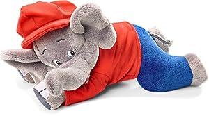 Schmidt Spiele 42250 Elefante Felpa Azul, Gris, Rojo Juguete de Peluche - Juguetes de Peluche (Elefante, Azul, Gris, Rojo, Felpa, Benjamin Blümchen, 200 g, 1 Pieza(s))