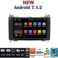 Android 7.1GPS DVD USB SD Wifi Radio 2Din navegador Mercedes Clase A W169/Clase B W245/Sprinter/Viano/Vito/B200/B150/B170/A180/A150/CRAFTER