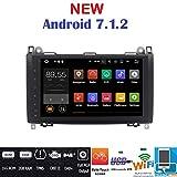 Android 7.1GPS DVD USB SD Wlan Autoradio 2Din NAVI Mercedes A-Klasse W169/B-Klasse W245/Sprinter/Viano/Vito/B200/B150/B170/A180/A150/Crafter