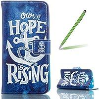 "Trumpshop Smartphone Case Coque Housse Etui de Protection pour Samsung Galaxy A5 (A500,5.0"") + Hope is rising + PU Cuir Anti-Choc [Non compatible avec A5 (2016,A510,5.2"") ]"