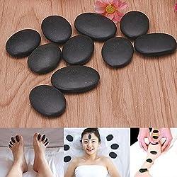 Piedra de masaje profesional, 7 piezas, masaje de lava, terapia natural, piedra de spa, piedra de basalto, terapia de masaje