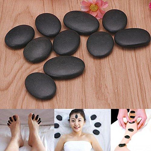 Piedra de masaje profesional, 7 piezas, masaje de lava,...