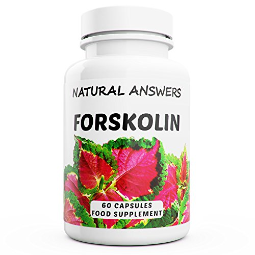 Forskolin 100 mg 1 Month Supply High Strength Coleus Forskohlii 100% Pure Natural Powerful Fat Burner and Weight Loss Pills 60 Capsules UK Manufactured by Natural Answers