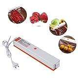 Macchina Sottovuoto per Alimenti, MoPei Macchina Sigillatrice Sottovuoto Automatica per Alimenti Cibi con 15 pacchetti di sigillanti -- Food Vacuum Sealer