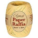 Eleganza Paper Raffia 8mm x 30m No.02 Natural