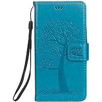 Shinyzone Wiko Lenny 3 Brieftasche Leder Flip Hülle,Premium PU Geprägte Eule Baum [Blau],Magnetverschluss Standfunktion... preisvergleich bei billige-tabletten.eu