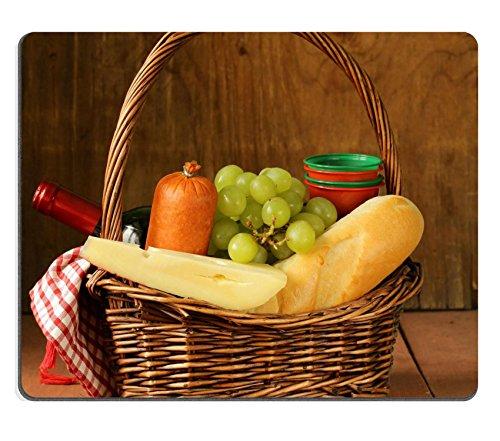 Luxlady Gaming Mousepad Image ID: 26240862cestino da picnic vino frutta formaggio e salsicce