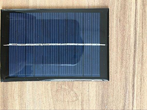 6V 0.6W 100mA Solar Panel Ladegerät Solarmodul DIY Batterie