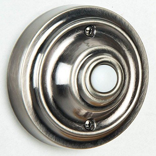 Teiber PB3039-AP Surface Mount Lighted Push Button, Antique Pewter by Teiber - Surface Mount-button