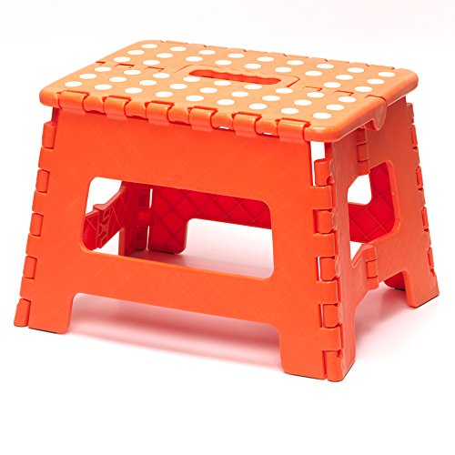 Beldray Nähmaschine la032614jafob Klein DIY Hobby Schritt Hocker, Orange, 29 x 22 x 22 cm