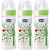 Chicco 150ml Well-Being Feeding Bottle (Pack Of 3) - 150 Ml (Green)