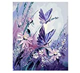 Start Exhibition Minion Schmetterling DIY Malen Nach Zahlen Handgemaltes Bild Ölgemälde Auf Leinwand Für Wohnzimmer 40X50 cm