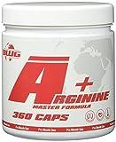 BWG Arginin Master - EXTREM HOCHDOSIERT - Arginine + Vit. B6 - 360 Caps - Pump - für Muskelaufbauphase - Deutsche Premium Qualität, 300 g
