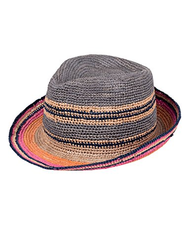 CaPO Havana Hat, Chapeaux Fedora Mixte Braun (Colorful Mix 24)